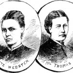Kate Webster (left) and Julia Martha Thomas (right)