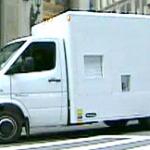 Photo of Z Backscatter X-Ray van on a public street