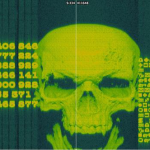 Skull over encrypted code was discovered in the DVD menu