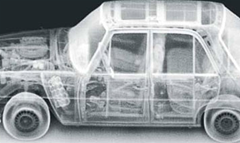 An example of what a Z Backscatter Van can see using its backscatter x-ray technology