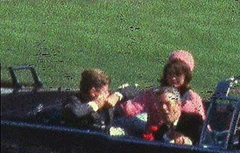 Zapruder frame captures the moment President John F. Kennedy was shot