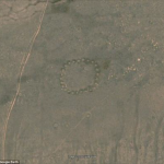 The Bestamskoe Ring as seen from Google Earth