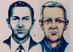D.B. Cooper profile with age progression