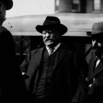 Theodore Roosevelt just before the assassination attempt