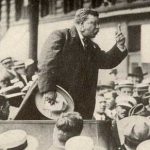 Despite the bullet in his chest, Theodore Roosevelt took the stage and made his speech