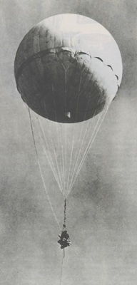A Japanese Fu-Go (Fire) balloon - balloon carrying explosives flown over the United StatesIt may surprise you to find that there were actually six civilian casualties in the 48 states during World War II. The incident occurred in 1945 when a Japanese balloon bomb floated into the United States where it killed six people in rural eastern Oregon. They are the only World War II U.S. combat casualties in the contiguous 48 states.