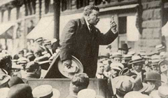 Despite the bullet lodged in his chest, Theodore Roosevelt continued to make his campaign speech