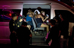 Human traficking prisoners freed by authorities