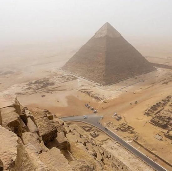 German teenager makes illegal climb to top of Egypt's Great Pyramid–and takes a remarkable set of pictures!