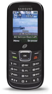Samsung TracPhone burner phone