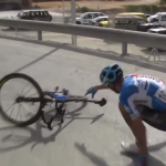 Controversial video of Ryder Hesjedal's crash and spinning bicycle