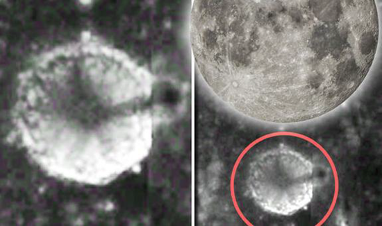 "Moon Spire - 3 ½ mile tall ""artificial spire"" found on the surface of the Moon"