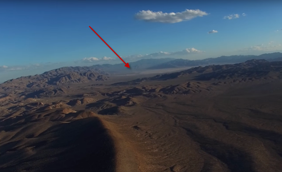 Photos of top-secret Area 51 base and Groom Lake taken by RC drone