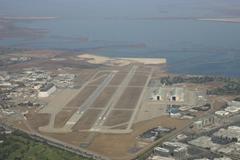 Moffett Federal Airfield in Mountain View, California