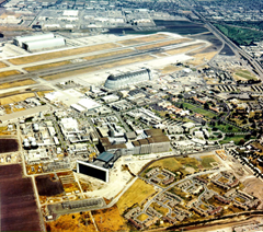 NASA Ames Research Center at Moffett Federal Airfield in Mountain View, California