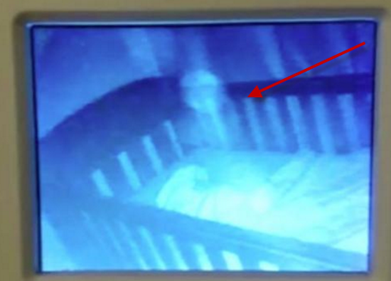 Baby monitor video shows ghostly apparition playing next to sleeping baby