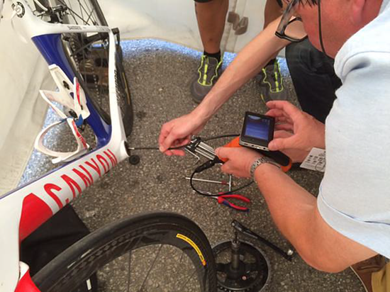 Belgian cyclist caught cheating at World Championship with tiny, hidden motor inside bike frame