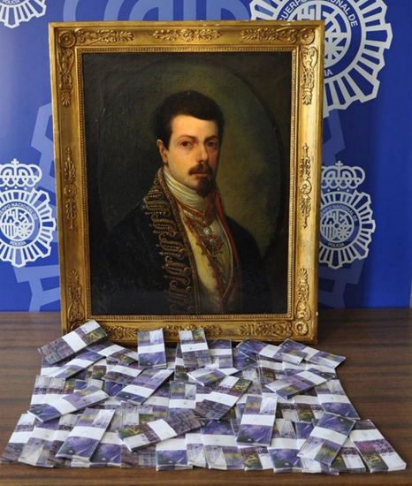 The fake Goya painting and counterfeit $2 million in Swiss francs