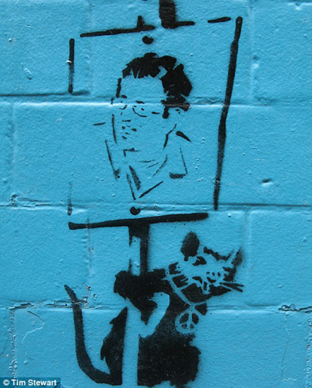 Banksy self portrait