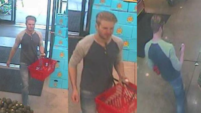 Man believed to be Kyle Bessemer spraying poison on food in Michigan store