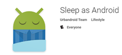 Sleep as Android app on the Google Play store