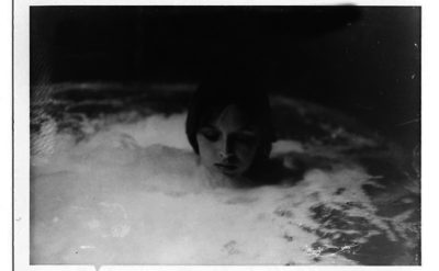 Suggestive photograph of 13-year-old Samantha Jane Gailey taken by Roman Polanski