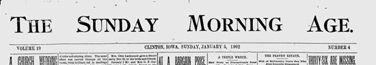 Florida Monster Slain (1902 news article)