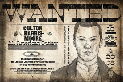 Colton Harris Moore wanted poster