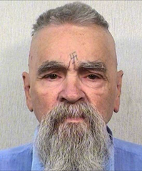 Charles Manson after years living behind bars