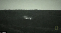 Clip from historic video that captured the Brown Mountain Lights