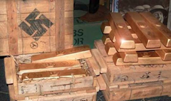 Recovered stolen Nazi treasure