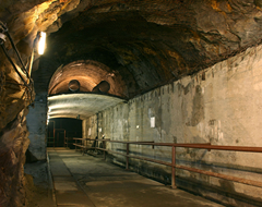 An underground facility built during Germany's Project Riese