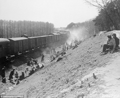 Old photograph of railroad tracks in Poland looks remarkable simliar to suspected location of Nazi Gold Train