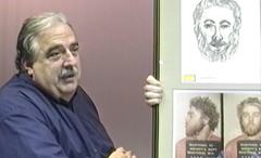 Manitowoc Country Detective Eugene Kusche swearing he did not trace the drawing of Steven Avery from a police mugshot photo