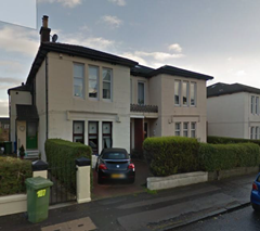 Home of Rutherglen poltergeist on Stonelaw Road