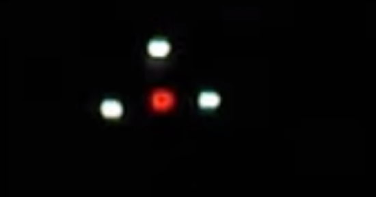 Triangular UFO over Charlottesville Virginia
