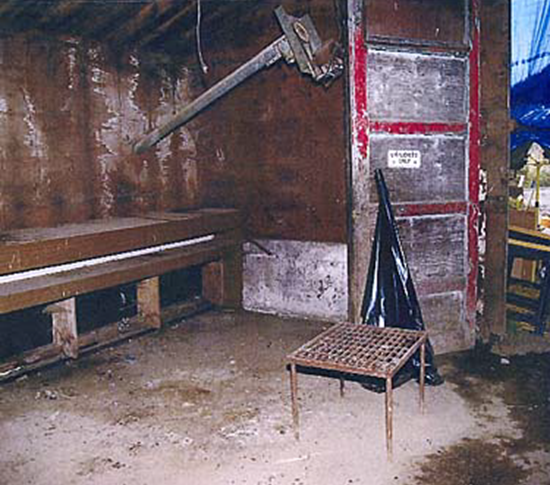 Robert Pickton slaughterhouse on the Pickton pig farm thumb
