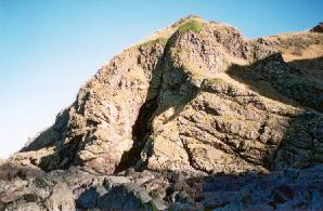 Entrance to Sawney Bean cave