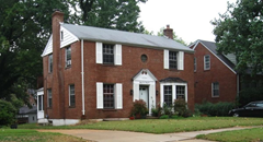 Ronald Hunkeler's relative's home at 8435 Roanoke Drive, Bel-Nor, Missouri where many of the exorcisms took place