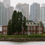 HMCS Discovery naval Base on Deadman's Island