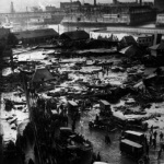 Overview of the Boston Molasses Flood - tank visible in background