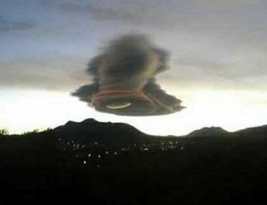 "Bizarre ""inverted-tornado"" cloud appears in Mexican sky"