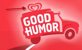 Good humor ice cream logo with pedophile symbol
