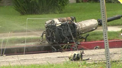 The engine from Michael Hastings' Mercedes C250 Couple