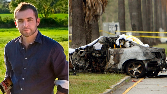 Michael Hastings and the burned out Mercedes