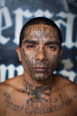 MS-13 gang tattoos