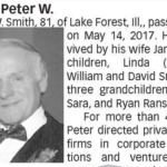 Peter W. Smith obituary
