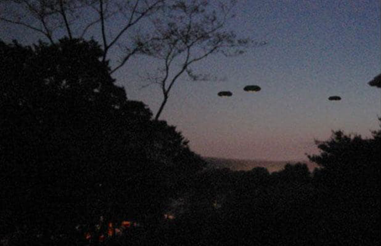 UFOs sighted in Connecticut thumb