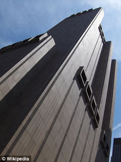 Exterior of the top-secret NSA/AT&T facility known as Titanpointe (33 Thomas Street) thumb