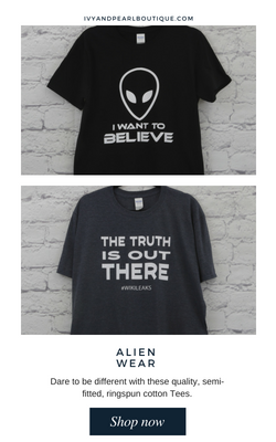Get your Alien Wear gear at IAP
